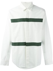 Soulland 'Asklund' Striped Shirt White