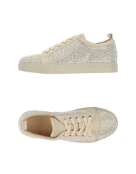 Lola Cruz Footwear Low Tops And Trainers Women Ivory