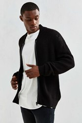 Cheap Monday Zip Bomber Sweater Black