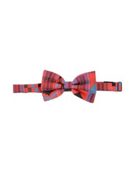 Flage Bow Ties Red