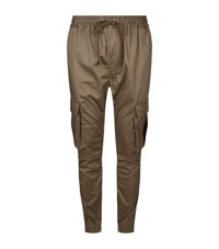 Magic Stick Cargo Trousers Male Beige