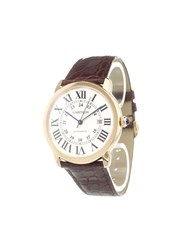 Cartier 'Ronde Solo' Analog Watch Stainless Steel