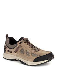 Rockport Rock Cove Leather Sneakers Taupe