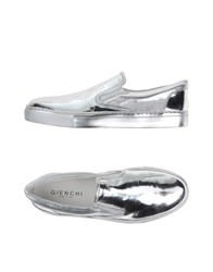 Gienchi Footwear Low Tops And Trainers Men Silver