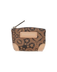 Christian Lacroix Coin Purses Dark Brown