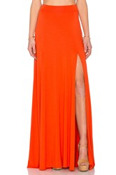 Rachel Pally X Revolve Josefine Maxi Skirt Orange