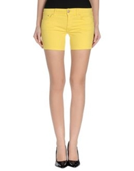Dondup Denim Shorts Yellow