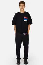 Opening Ceremony Tchaikovsky Cut Off Sweatpants Black Multi
