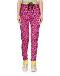 Markus Lupfer Trousers Casual Trousers Women Fuchsia