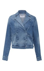 Frame Denim Le Crop Jacket Medium Wash