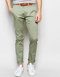 Selected Homme Chinos In Slim Fit Sea Spray