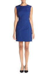 Women's French Connection Cotton Blend Sleeveless Body Con Dress
