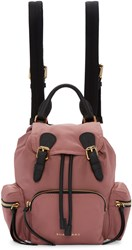 Burberry Pink Small Rucksack