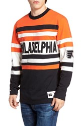 Mitchell And Ness Men's Flyers Open Net Pullover