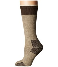 Carhartt Heavyweight Merino Wool Blend Boot Sock Khaki Women's Crew Cut Socks Shoes