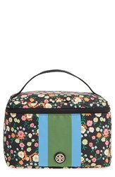 Tory Burch Floral Print Cosmetics Case