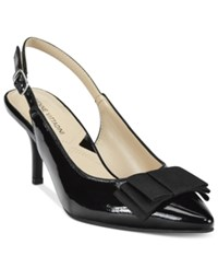 Adrienne Vittadini Siyan Pointed Toe Slingback Pumps Women's Shoes