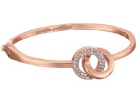 Kate Spade Infinity And Beyond Infinity Knot Bangle Bracelet Clear Rose Gold