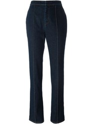 Givenchy High Waisted Jeans Blue