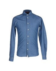 Blend Of America Blend Denim Denim Shirts Men Blue