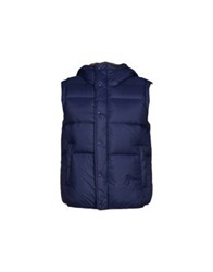 M.Grifoni Denim Down Jackets Blue