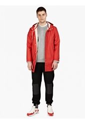 Men's Red Stockholm Raincoat