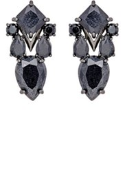 Fallon Women's Mellifera Drop Earrings Black