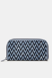 The People's Movement Zippy Wallet Blue Multi