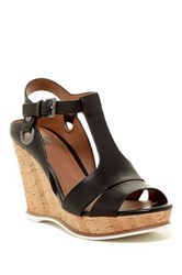 Susina Tyra Platform Wedge Sandal Wide Width Available Gray