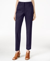Styleandco. Style Co. Slim Fit Cropped Pants Only At Macy's Industrial Blue