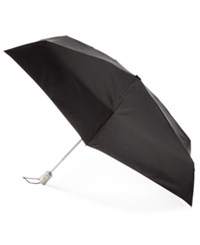 Totes Signature Auto Open Close Compact Umbrella Black