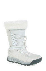 New Balance Women's Q416 1000 Faux Fur Waterproof Platform Boot White