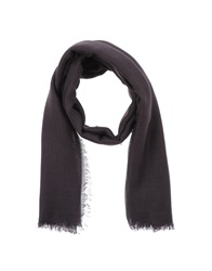 Jil Sander Oblong Scarves Deep Purple