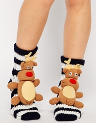 Asos North Star Reindeer Socks
