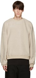 D By D Beige Oversized Pullover