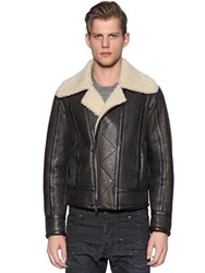 Dsquared Shearling Aviator Jacket