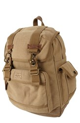 Men's A. Kurtz 'Spruce' Backpack Beige Tan