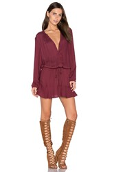 Soft Joie Parana Dress Burgundy