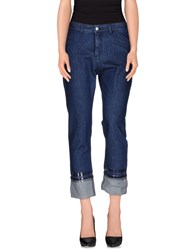Maison Martin Margiela Mm6 By Maison Margiela Denim Denim Trousers Women Blue