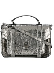 Proenza Schouler Medium 'Ps1' Satchel Metallic