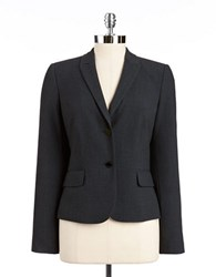 Calvin Klein Two Button Blazer Charcoal