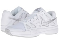 Nike Air Vapor Advantage White Medium Grey Metallic Silver Women's Tennis Shoes