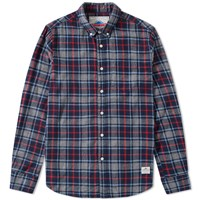 Penfield Crossfield Check Shirt Grey
