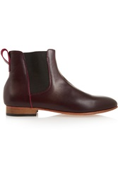 Dieppa Restrepo Troy Leather Ankle Boots