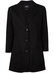 Yang Li Long Blazer Black