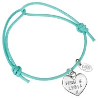 Chambers And Beau Personalised Heart Friendship Bracelet