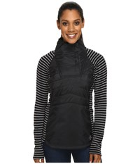 Smartwool Double Propulsion 60 Pullover Black Women's Long Sleeve Pullover