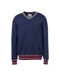 Edward Spiers Sweaters Dark Blue