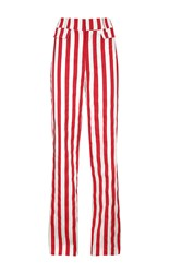 Dondup Striped Sophie Trousers Red