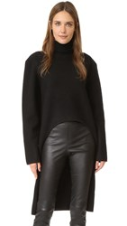 Dion Lee Boiled Wool Circle Tunic Black